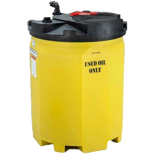 275 Gallon Waste Used Oil Tank Snyder 5740102n95703