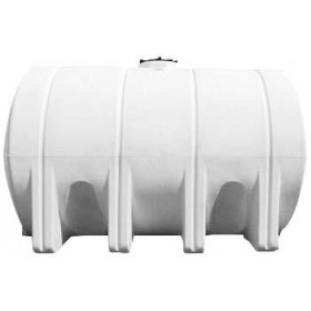 3725 Gallon White Horizontal Leg Tank