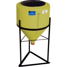 15 Gallon Yellow Inductor Cone Bottom Tank