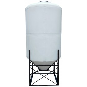 350 Gallon Cone Bottom Tank