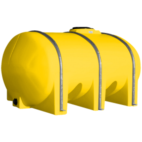 1035 Gallon Yellow Elliptical Leg Tank