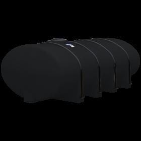 1610 Gallon Black Elliptical Leg Tank