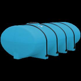 1610 Gallon Light Blue Elliptical Leg Tank
