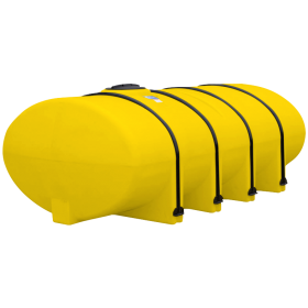 1610 Gallon Yellow Elliptical Leg Tank