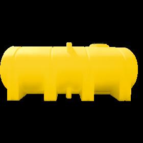 2350 Gallon Yellow Elliptical Leg Tank