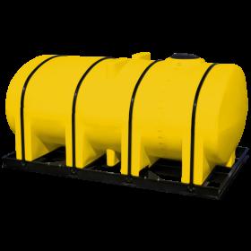 2750 Gallon Yellow Elliptical Leg Tank