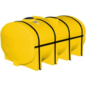 3250 Gallon Yellow Elliptical Leg Tank