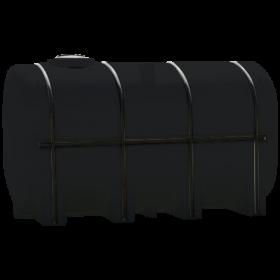 3750 Gallon Black Elliptical Leg Tank