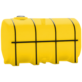 3750 Gallon Yellow Elliptical Leg Tank