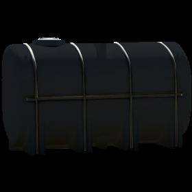 4250 Gallon Black Elliptical Leg Tank