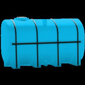 4250 Gallon Light Blue Elliptical Leg Tank