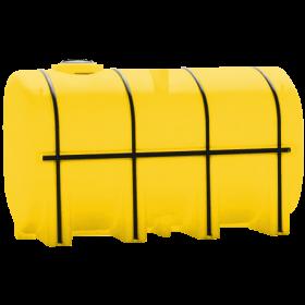 4250 Gallon Yellow Elliptical Leg Tank