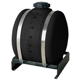 25 Gallon Black Applicator Tank