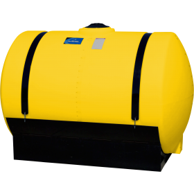 200 Gallon Yellow Applicator Tank