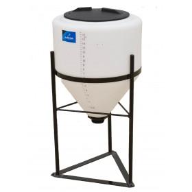 15 Gallon Inductor Cone Bottom Tank