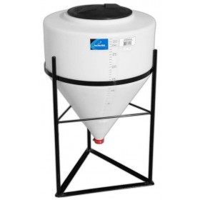 30 Gallon Inductor Full Drain Cone Bottom Tank