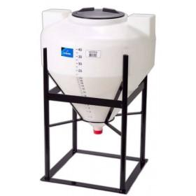 40 Gallon Inductor Full Drain Cone Bottom Tank