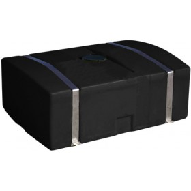 110 Gallon Black Low Profile Transport Tank