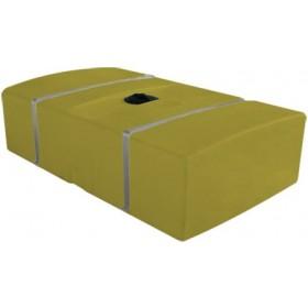 200 Gallon Yellow Low Profile Transport Tank