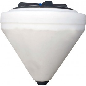 75 Gallon Chem-Tainer Inductor Cone Bottom Tank