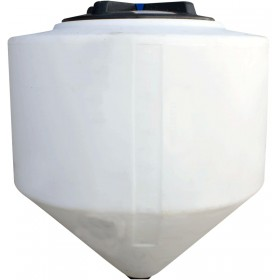 100 Gallon Chem-Tainer Inductor Cone Bottom Tank