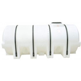 1005 Gallon White Horizontal Leg Tank