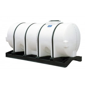 1010 Gallon White Horizontal Leg Tank