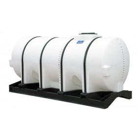 1010 Gallon White Horizontal Leg Tank