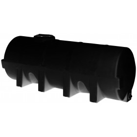 1025 Gallon Black Heavy Duty Horizontal Leg Tank