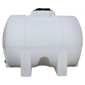 525 Gallon White Horizontal Leg Tank