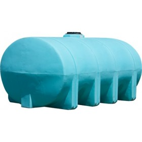 2635 Gallon Light Blue Heavy Duty Elliptical Leg Tank