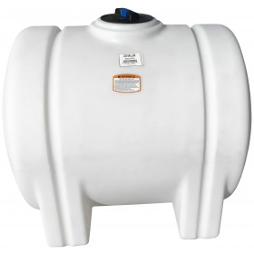 125 Gallon White Horizontal Leg Tank