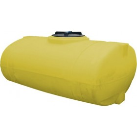 300 Gallon Yellow Elliptical Tank