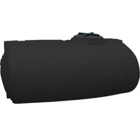500 Gallon Black Elliptical Tank