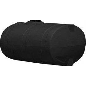 1000 Gallon Black Elliptical Tank