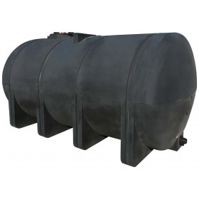 3135 Gallon Black Heavy Duty Elliptical Leg Tank
