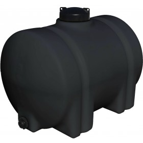35 Gallon Black Horizontal Leg Tank