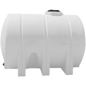 1325 Gallon White Horizontal Leg Tank