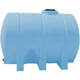 1325 Gallon Light Blue Heavy Duty Horizontal Leg Tank