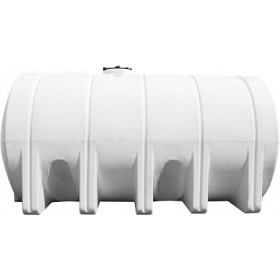 5025 Gallon White Horizontal Leg Tank