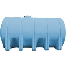 5025 Gallon Light Blue Heavy Duty Horizontal Leg Tank