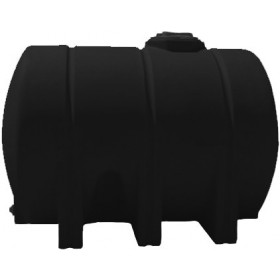 1325 Gallon Black Horizontal Leg Tank