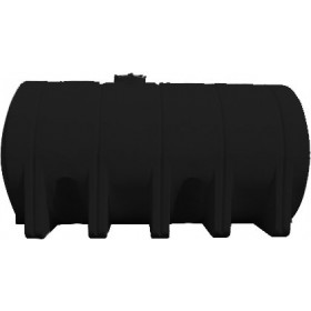 5025 Gallon Black Heavy Duty Horizontal Leg Tank