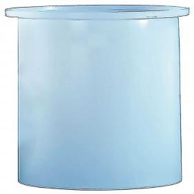 3 Gallon PE Cylindrical Open Top Tank