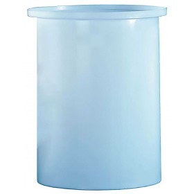 7.5 Gallon PP Cylindrical Open Top Tank