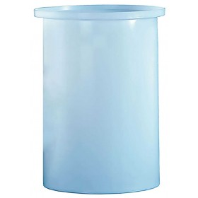 15 Gallon PP Cylindrical Open Top Tank