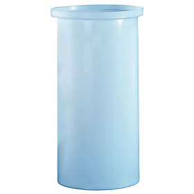 80 Gallon PP Cylindrical Open Top Tank