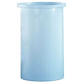 260 Gallon PP Cylindrical Open Top Tank