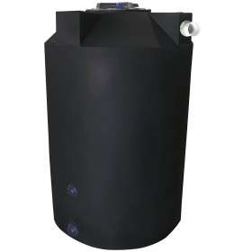 125 Gallon Black Rainwater Collection Tank