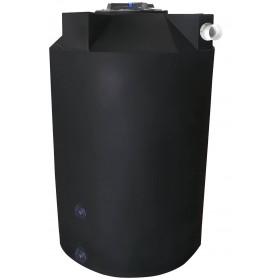 500 Gallon Black Rainwater Collection Tank